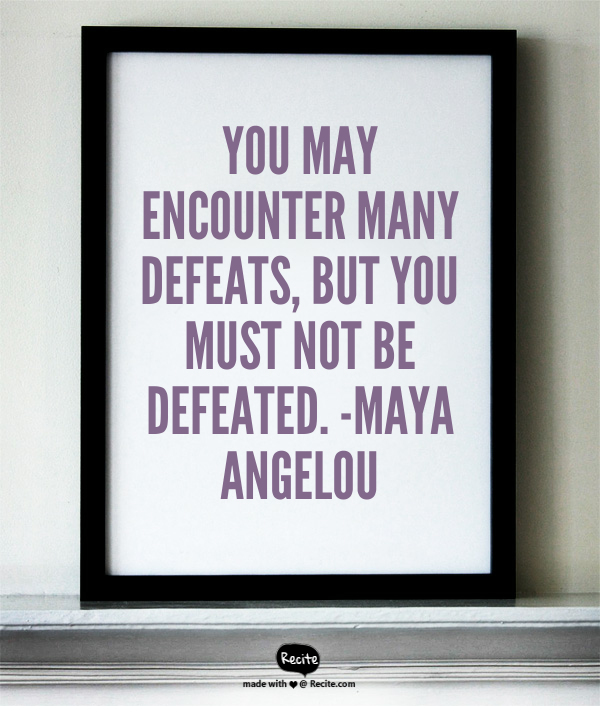 War of Work Inspiration by Angelou