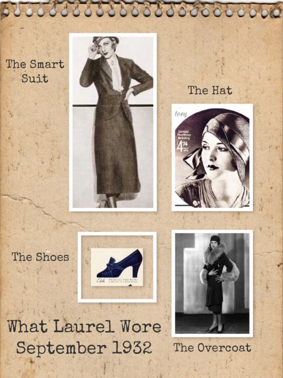 What Laurel Wore during the Case of Bonnie and Clyde
